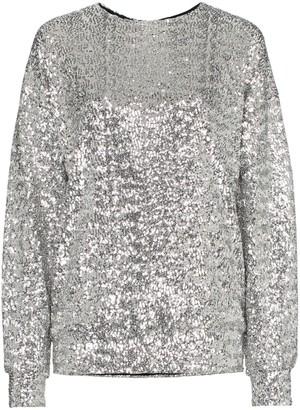 Isabel Marant Olivia sequin embellished top