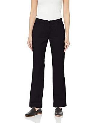 Lee Indigo Women's Stretch Twill Flat Front Pant