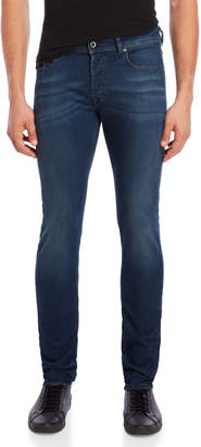Diesel Dark Indigo Sleenker Slim-Skinny Jeans
