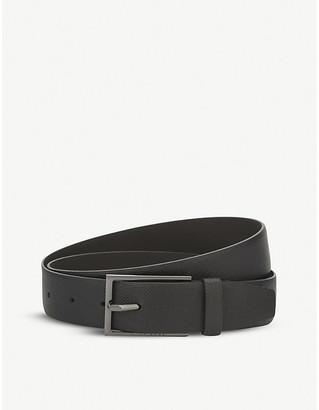 BOSS Hugo Carmello-S textured leather belt