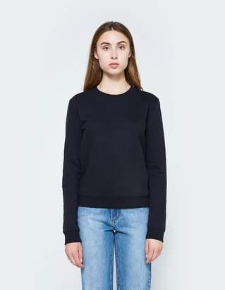 Need Crew Neck Sweatshirt in Navy