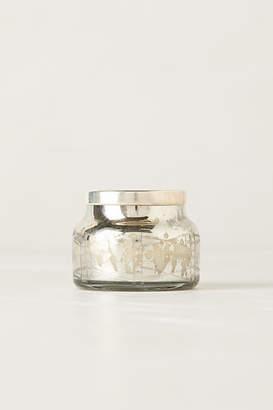 Anthropologie Mini Capri Blue Jar Candle