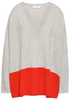 Amanda Wakeley Color-block Cashmere Sweater