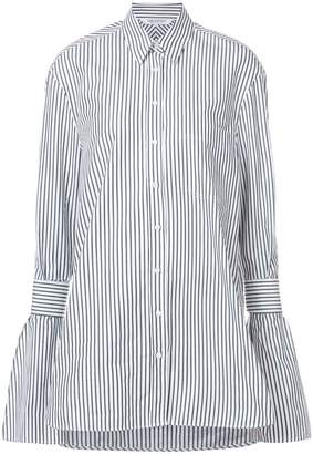 Neil Barrett striped pattern tunic
