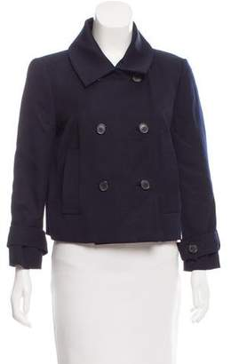 Chloé Double-Breasted Wool-Blend Jacket