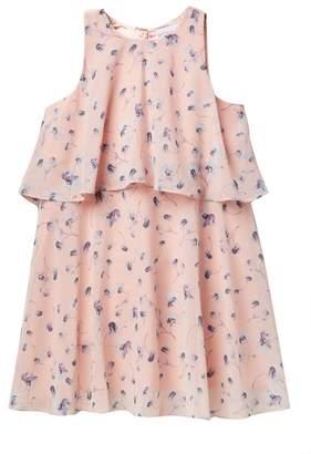 BCBGirls Waterfall Poppies Dress (Big Girls)