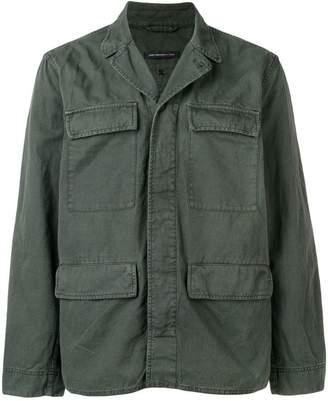 John Varvatos regular military jacket