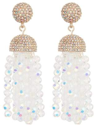 BaubleBar Tinsel Tassel Earrings