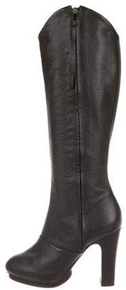 AllSaints Leather Knee-High Boots
