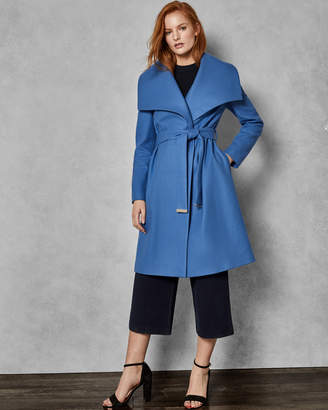 Ted Baker AZZALEA Statement collared wool coat