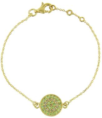 Ileana Makri EYE M by Little Focus Tsavorite Bracelet
