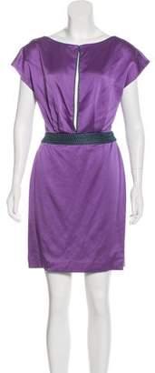 Zac Posen Beaded Mini Dress