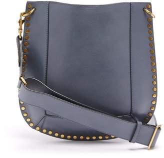 646044f34 Isabel Marant Oskan Studded Leather Shoulder Bag - Womens - Grey