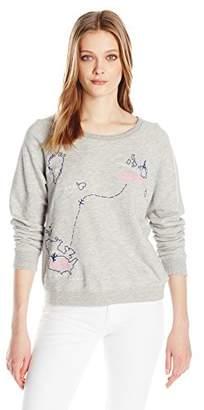 Sundry Women's Sweatshirt Fr to USA