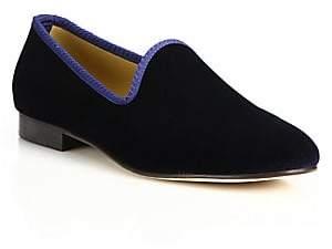 Del Toro Men's Velvet Loafers