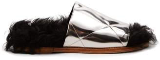 Marques Almeida MARQUES'ALMEIDA Quilted-leather slides
