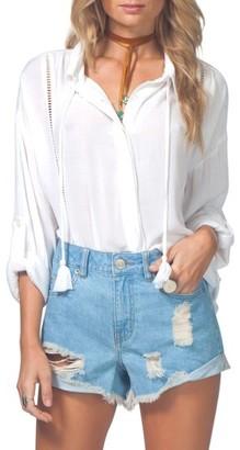 Women's Rip Curl Mara Beach Shirt $54 thestylecure.com