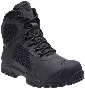 BATES Bates Mens Shock Fx Waterproof Slip Resistant Work Boots Lace-up
