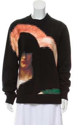 Givenchy Graphic Crew Neck Sweatshirt