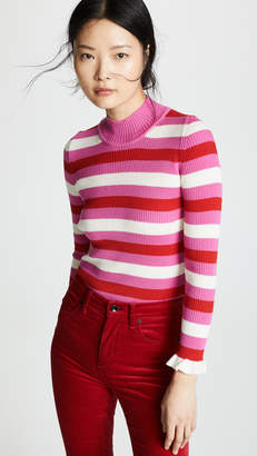 Pink And White Striped Sweater - ShopStyle 353d9ffd0
