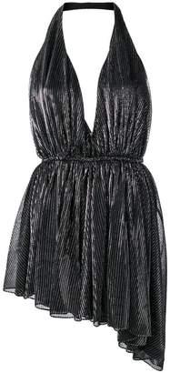 Saint Laurent asymmetric hem dress