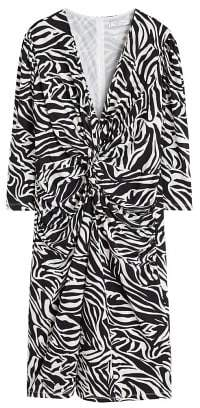 Violeta BY MANGO Zebra printed dress