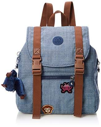 Kipling (キプリング) - [キプリング] Amazon公式 正規品 AICIL リュック K70081 07Z Cotton Bl Patch