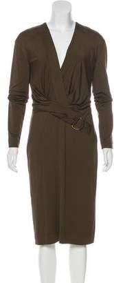 Tom Ford Long Sleeve Midi Dress w/ Tags
