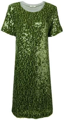 3041e95403 Sequin T Shirt Dress - ShopStyle