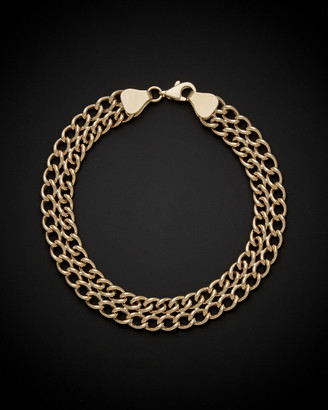 Italian Gold 14K Curb Link Bracelet