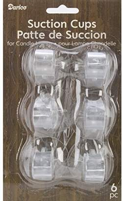 clear Darice Suction Cups for Candle Lamps