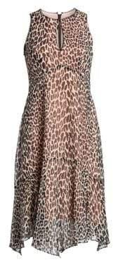 Nanette Lepore Silk Print Frock Dress