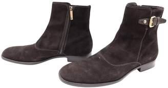 Louis Vuitton Pony-style calfskin boots