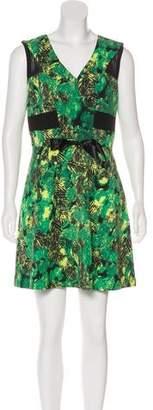 Marni Leaf Print Mini Dress