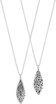 Lois Hill Long Teardrop Necklace