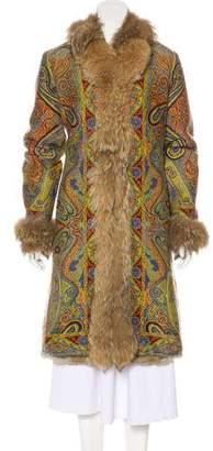 Etro Fur Lined Coat