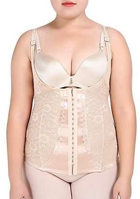 Paz Wean Bodyshapers Shape Wear Plus Size Shapewear for Women 4X Tank Top Underbust Underwear