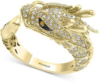 Effy Diamond Dragon Ring (3/4 ct. t.w.) in 14k Gold