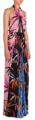 Emilio Pucci Silk Patchwork Gown $3,800 thestylecure.com