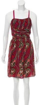Anna Sui Printed Sleeveless Dress