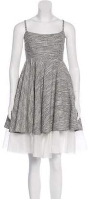 Philosophy di Alberta Ferretti Tweed A-Line Dress w/ Tags