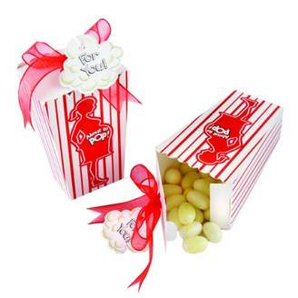 Kate Aspen Kateaspen About To Pop Popcorn Favor Box, Set of 24