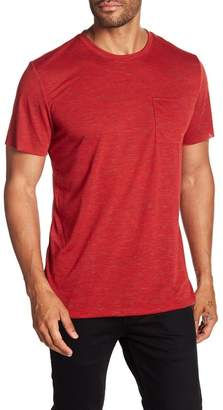 Public Opinion Chest Pocket Crew Neck Tee