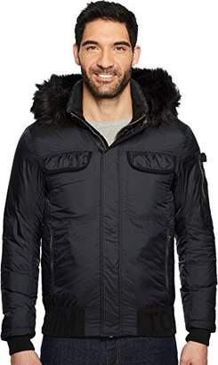 Tommy Hilfiger Tommy Jeans Men's Down Jacket with Faux Fur Hood