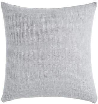 Sferra Gray Double-Faced Pillow