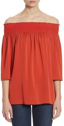 Theory Women's Elistaire Off-the-Shoulder Top