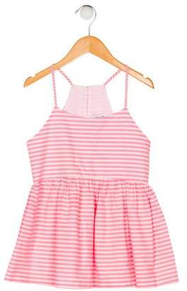 Milly Minis Girls' Striped Sleeveless Top