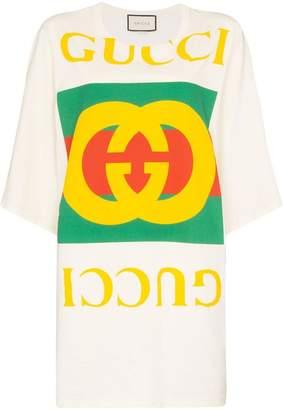 Gucci vintage logo oversized T-shirt
