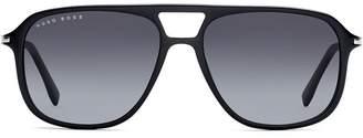HUGO BOSS aviator framed sunglasses