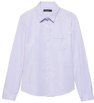 Banana Republic Petite Quinn Straight-Fit Oxford Shirt
